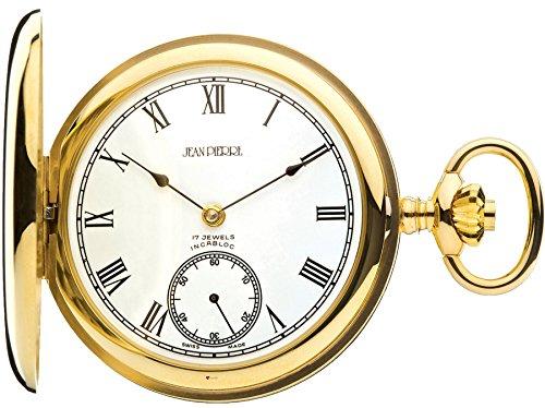Reloj de Bolsillo de Oro 9ct Pulido Completo Hunter - 17