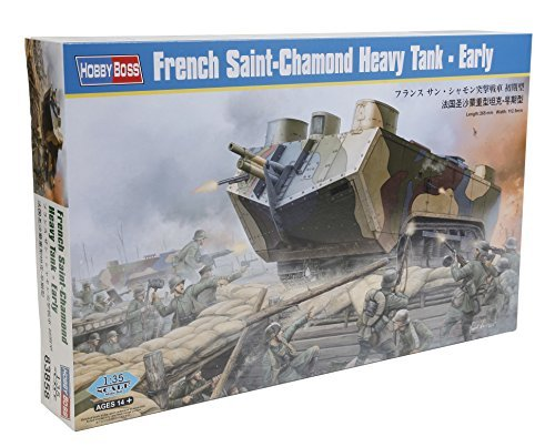 HobbyBoss 1/35 French Saint-Chamond Heavy Tank Early by Hobby Boss