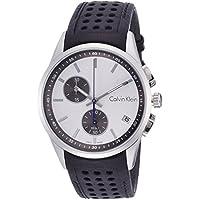 Calvin Klein Bold Chronograph Silver Dial Men's Watch