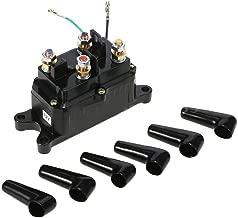 Podoy 62135 Warn Winch Relay ATV Solenoid 250A Contactor Switch Thumb for UTV 4x4 Kit 12V 63070 74900 2875714 70715