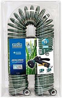 comprar comparacion Aqua Control C2107N2 - Manguera de jardín, con Conexiones bimateria, 15 m, Pistola con 7 Formas