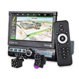 CarThree Single Din Car Stereo with GPS Navigation...