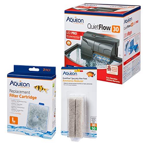 Aqueon Aquarium Filter Kit w/Media (4 Month Supply), up to 45 Gallon