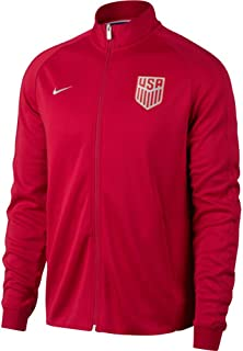 Nike USA Mens NSW N98 Authentic Track Jacket [Gym RED]