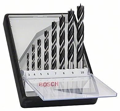 Foto di Bosch Professional 2607010533 Set Punte Elicoidali per legno Grigio