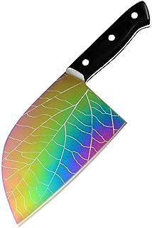 Tang complet Couteau de chef 3cr13 Butcher couteau en acier inoxydable for la viande Cleaver légumes Couteau de cuisine Ou...