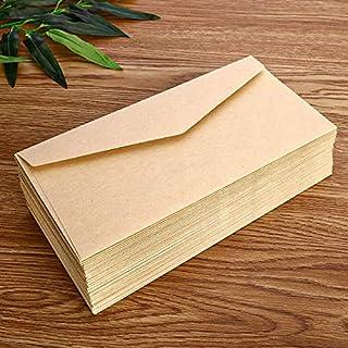 50pcs/lot Retro European Style Envelope Black White Craft Paper Envelope For Postcard Letter Scrapbooking Gift School Stat...