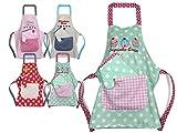 Emily´s Check Kochmütze - Küchenschürze & Topfhandschuh für Kinder 468.550, Küchenschürze &...