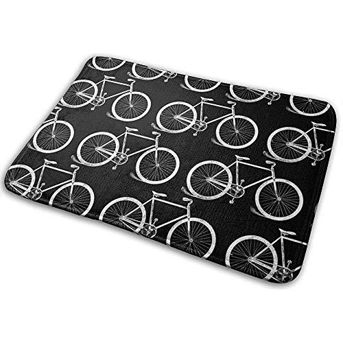 SESILY Fahrrad Fußmatten Outdoor Fußmatten Fußmatten rutschfeste Küchenteppiche