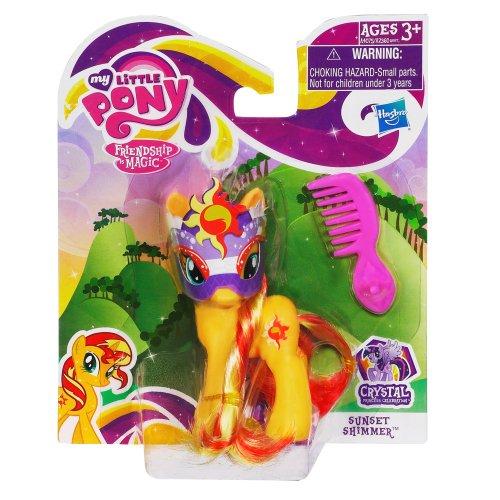 My Little Pony – Sunset Shimmer – Figurine 8 cm (Import Royaume-Uni)
