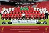 Liverpool FC Team Photo 2012-13 Poster, 92x61