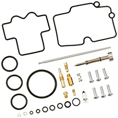 Kits include all of the necessary components to repair a carburetor; Atv models with two carburetors include components to repair two carburetors Kit includes all O-rings, gaskets, jets, needle, mixture screw, float bowl screws, float valve needle an...