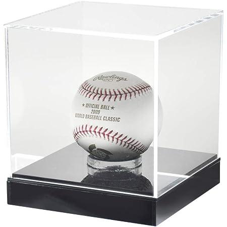 プラスアート サインボールケース/野球ボールケース アクリル製 土台付 W130×D130×H145mm SP-BB ディスプレイケース