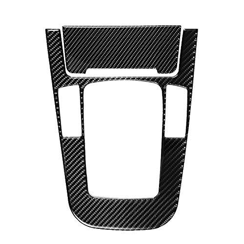 KIMISS Duokon Cubierta del Panel de la Caja de Cambios, Pegatina de la Cubierta del Panel de la Caja de Cambios de Fibra de Carbono para Audi A4 A5 2009-2016 decoración de Interiores