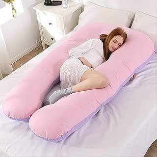 Beesclover Komfortables Multifunktions-Schlafkissen f/ür schwangere Frauen Violett//Pink