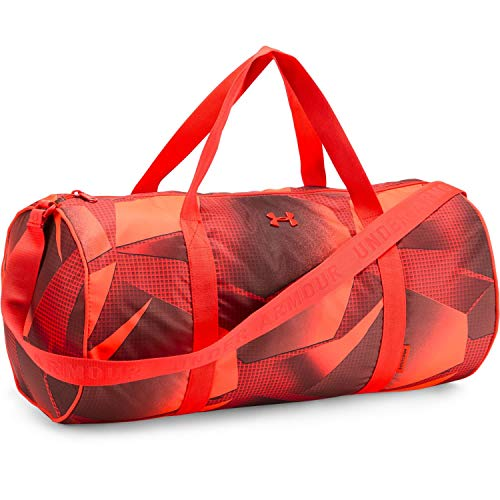Under Armour Favorite 2.0 Duffel-Tasche Sac de Sport Femme, Ares Red/Radio Red, Taille : OSFA