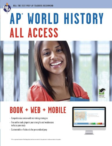 AP® World History All Access Book + Online + Mobile (Advanced Placement (AP) All Access)