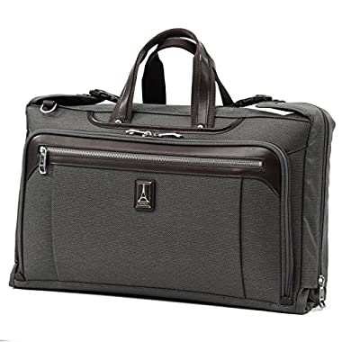 Travelpro Luggage Platinum Elite 20  Carry-on Tri-Fold Garment Bag, Vintage Grey