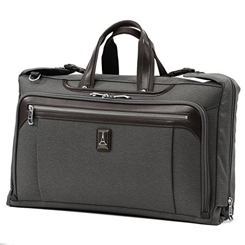 Travelpro Plaitnum Elite-Tri-Fold Carry-On Garment Bag, Vintage Grey, 20-Inch