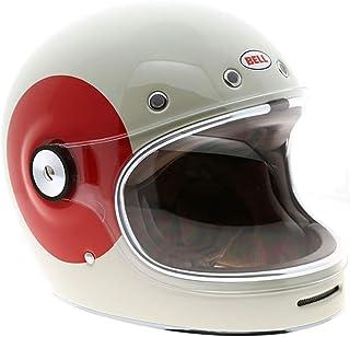Capacete Bell Helmets Bullitt Tt Gloss Vintage Branco Vermelho 59