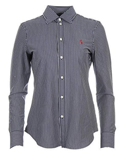 Ralph Lauren Knit Dress - Blusa, color azul marino, rosa y blanco azul marino XS