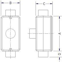 Caixa de Derivação Fixo Sem Rosca Tipo Tb 1'' 4x2 - 56108013 - TRAMONTINA - Caixa de Derivação Fixo Sem Rosca Tipo Tb 1'' ...