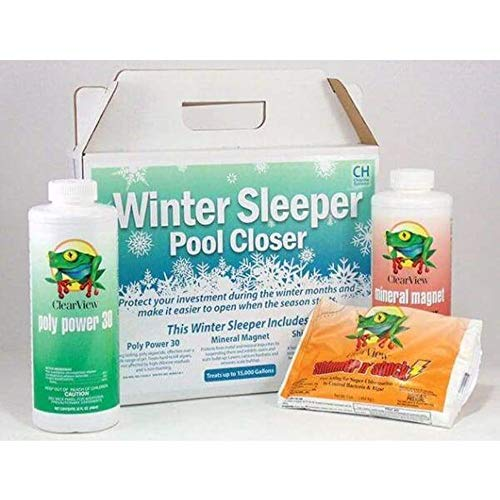 Hot Tub Classic Parts Pool Chlorine Winter Pool Closing Kit Up to 35,000 Gallons WS3500