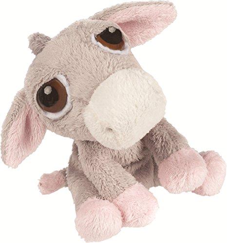 Suki Gifts 10053 - Luna Esel Baby mit Rassel, 13 cm
