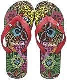 Desigual Shoes (Flip Flop_Tropical), Tongs Femme, Noir (Negro 2000), 40 EU