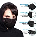 Corona Virus protection products MKOM Disposable Face Masks, Face Masks Black, 50 Pack