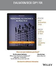 Personnel Economics in Practice, Third Edition Evaluation Copy