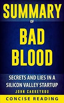 Bad blood book pdf john carreyrou