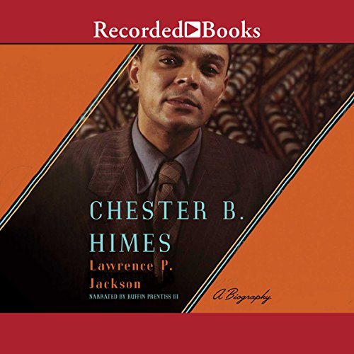 Chester B. Himes audiobook cover art