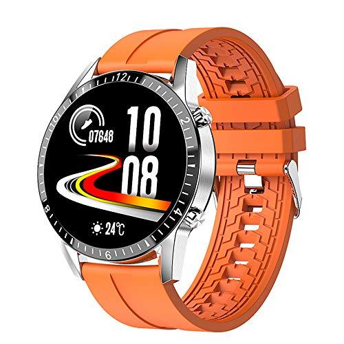 SHANGXIN El nuevo reloj inteligente, reloj de teléfono Bluetooth, rastreador deportivo, pantalla táctil a color de 1,3 pulgadas, compatible con la mayoría de teléfonos móviles.