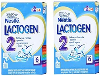 2 x Nestle Lactogen Stage 2 After 6 Months (Pack of 2) - India