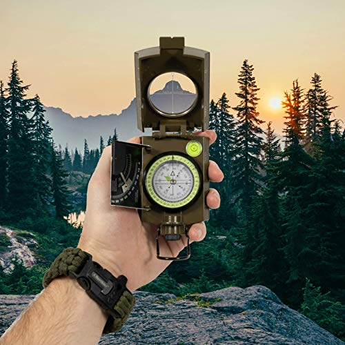 Northies Combo Pack Military Lensatic Sighting Compass