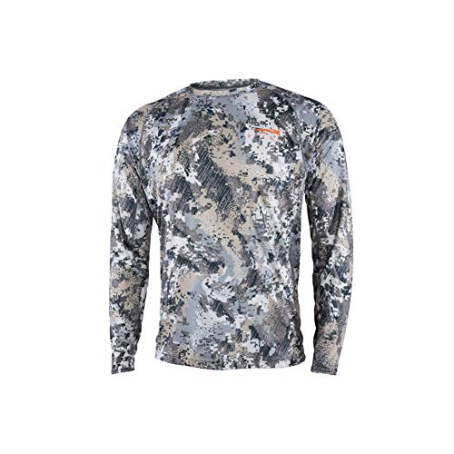SITKA Gear Sitka Men's Hunting Core Lightweight Crew Long Sleeve Shirt, Optifade Elevated II, X-Large