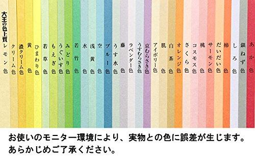 大王製紙 色上質紙 特厚口 A3 50枚 選べる25色 白茶 色画用紙