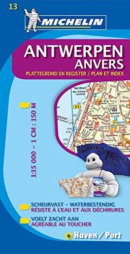 Michelin Antwerpen: Stadtplan 1:15.000 (MICHELIN Stadtpläne)