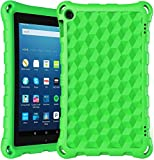2020 Newest 7 inches Tablet Case snowwicase Kids-Proof Protective Lightweight Durable Case Cover (Compatible with 2015&2017&2019 Release) (Green)