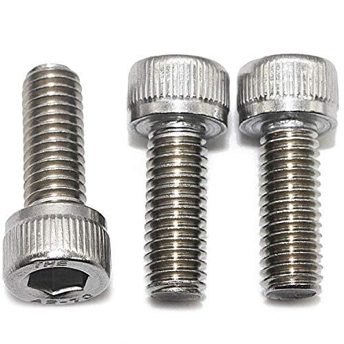 M5 x 30 mm (50 Stück)-Zylinderschrauben mit Innensechskant - Zylinderkopf Schrauben ISO 4762 - DIN 912 - Gewindeschrauben - Edelstahl A2 V2A