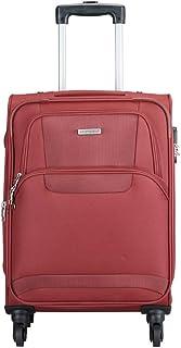 Aristocrat Nylon 26 cms Red Softsided Cabin Luggage (Amber)
