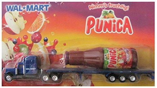 Giveaway Punica Nr. - CherryFresh 7 Vitamine Mix - Wal-Mart - Peterbilt 378 - US Sattelzug mit Flasche