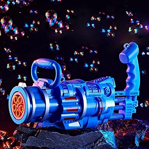 LUBINGT Bubble Machine 2021 Summer Gatling Bubble Machine Weddin