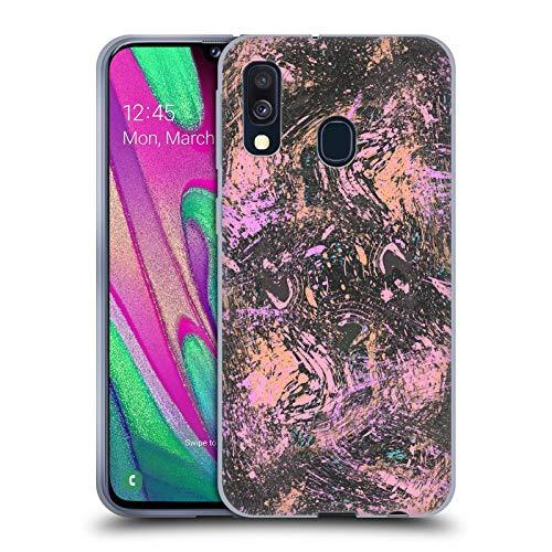 Head Case Designs Licenciado Oficialmente Ninola Polvo de Coral Moderno 2 Carcasa de Gel de Silicona Compatible con Samsung Galaxy A40 (2019)
