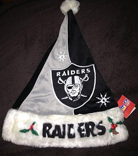 Oakland Raiders Santa Hat