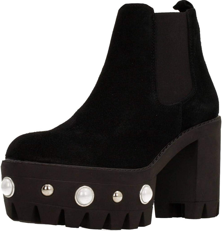 Unbekannt Stiefelleten Stiefel Stiefel Stiefel Damen, Farbe Schwarz, Marke Gelb, Modell Stiefelleten Stiefel Damen Gelb Frost Schwarz  f87ba7