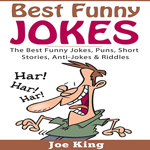 Best Funny Jokes audiobook cover art
