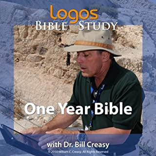 One Year Bible audiobook cover art