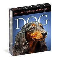 カードテーブルカレンダー犬のカラー写真20211日1ページのカレンダーは犬の愛好家のための休日の誕生日プレゼントとして使用できます
